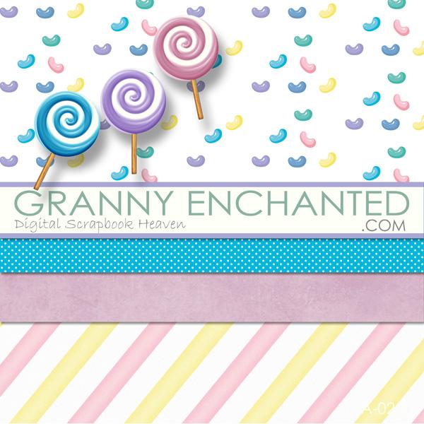 Grannyenchanted Digital Scrapbook Heaven