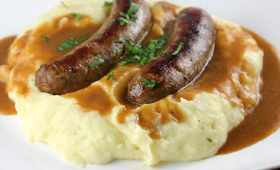 Bangers and Mash Recipe, Dissert for England