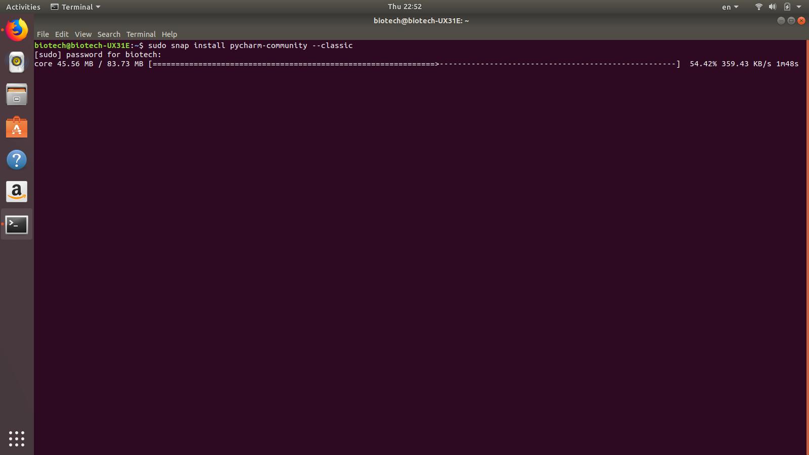 How to install program on Ubuntu: How to install PyCharm