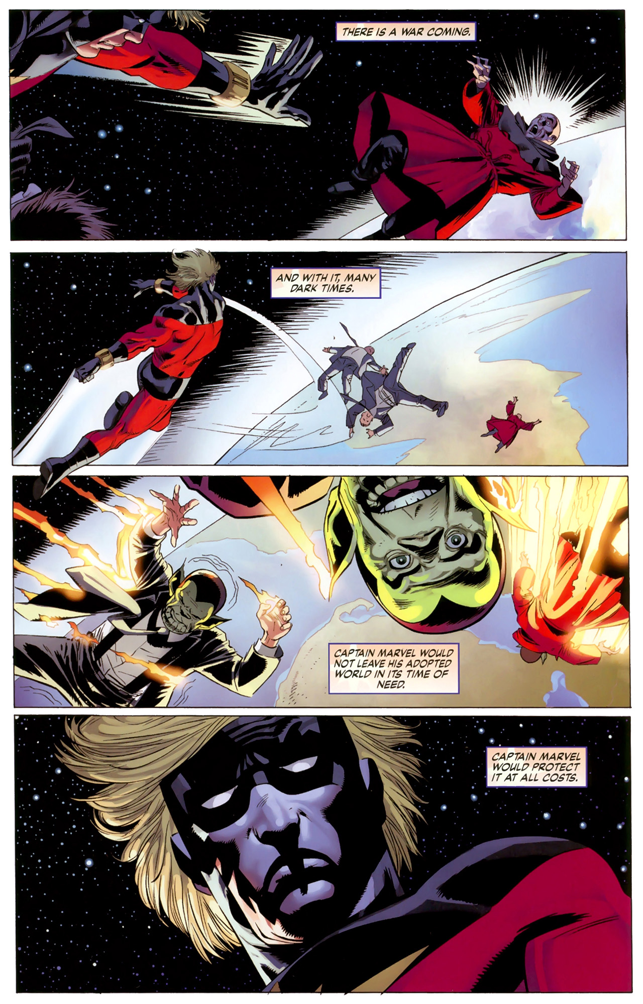 Read online Secret Invasion: The Infiltration comic -  Issue #6 - 23