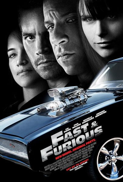 Fast Furious 2009 movie poster