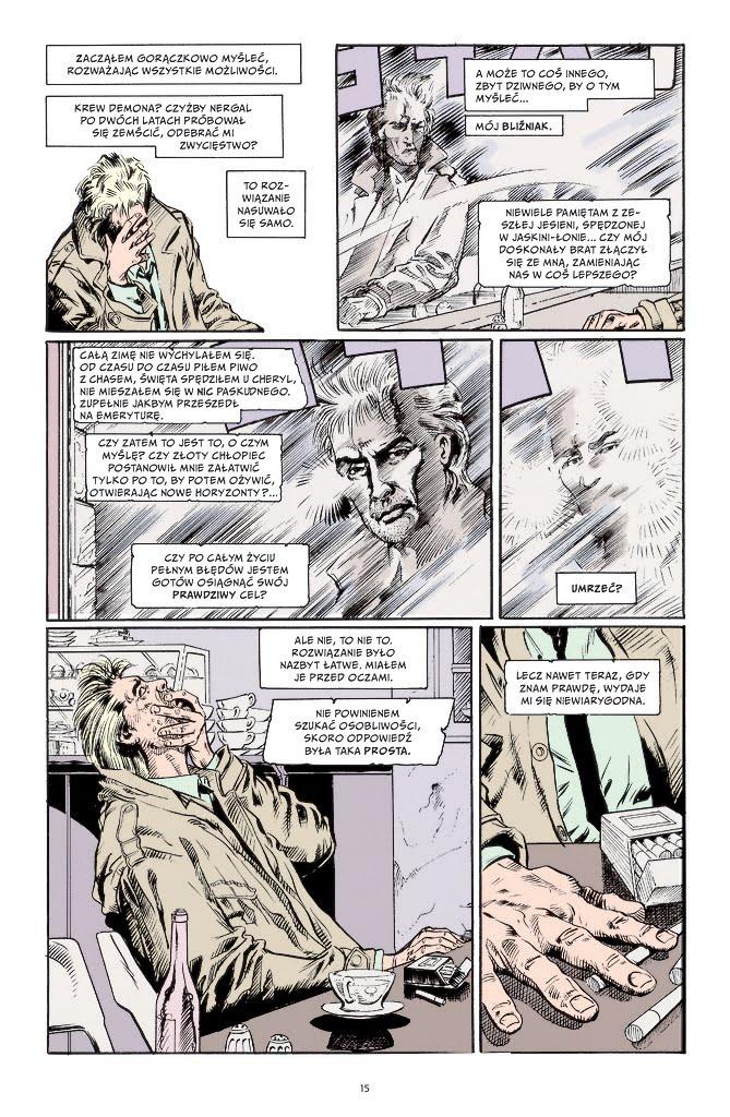 Hellblazer tom 1 (Garth Ennis) przykładowa strona
