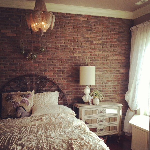 Brick Wall Mural Wallpaper Bedroom
