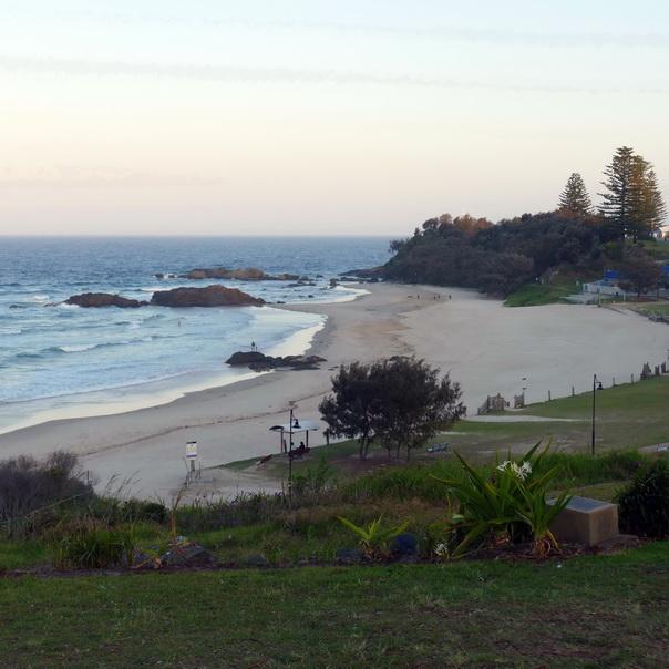 Port Macquarie, Ostküste, Australien, Meer, grün, mystisch, Aussicht, Strand