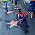 Wow! Adekunle Gold's name makes it to Hollywood Walk of Fame (Photo)