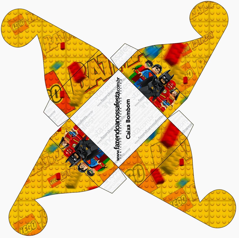 Lego Película: Cajas para Imprimir Gratis.   Ideas y material gratis ...