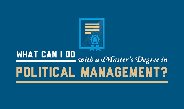 Technology Management Image: What Can I Do With A Master's Degree In Political
