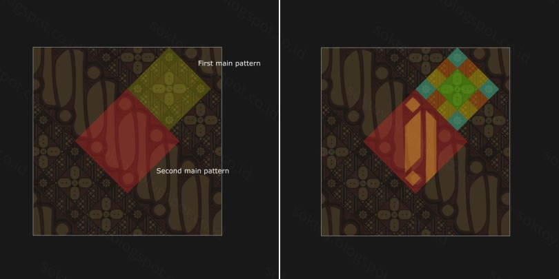 seamless vector batik fill pattern in inkscape