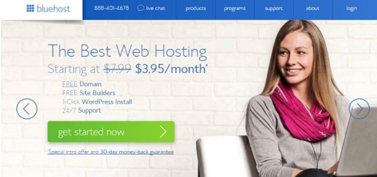 Bluehost hosting email bisnis gratis