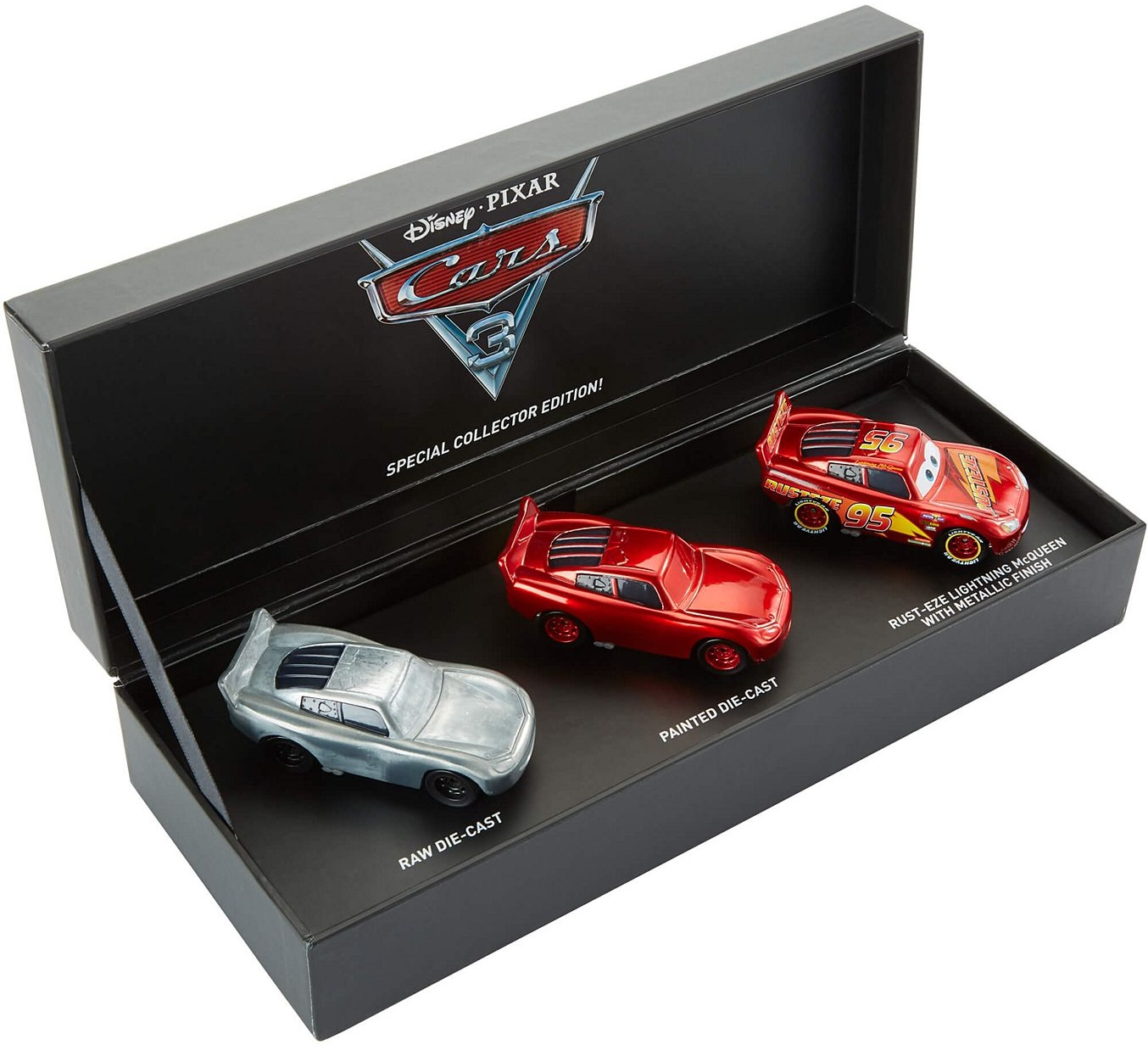 Sdcc Exclusive The Making Of Cars 3 Lightning Mcqueen Die Cast