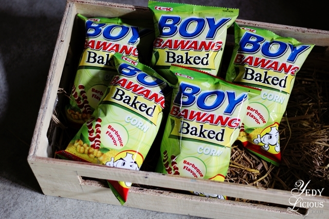 Boy Bawang Baked Corn Boy Bawang New Products, Boy Bawang Best Local Snacks in the Philippines, Boy Bawang KSK Food Products Blog Review YedyLicious Manila Food Blog Yedy Calaguas