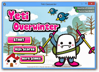 Help the Yeti survive the Ice Age in this action-packed #WinterGame! #Yeti #FlashGames