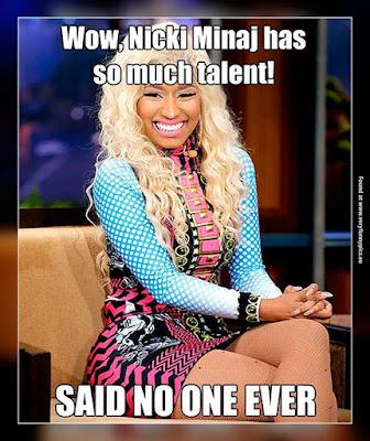 funny Nicki Minaj meme