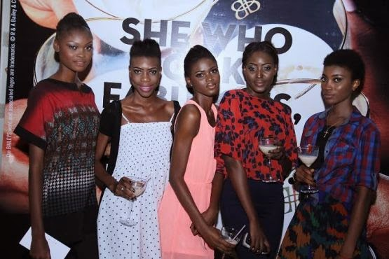 When Baileys Celebrated Models Of African International Fashion Week