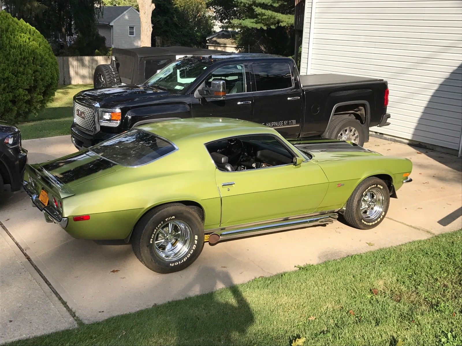 Day Two Big Block Swap Candidate 1970 1 2 Chevrolet Camaro Z28 RS
