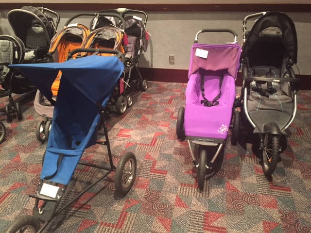 strollers at consigment sales