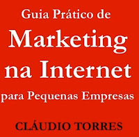 Capa do livro Marketing na Internet para pequenas empresas - Cláudio Torres