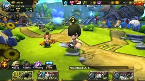Dragon Nest: Labyrinth MMORPG Apk Android Download