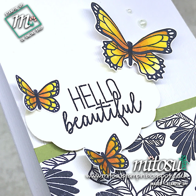 Butterfly Gala Stamp Set & Butterfly Duet Punch Bundle Stampin' Up! Card Ideas. Order Cardmaking Products from Mitosu Crafts Online Shop