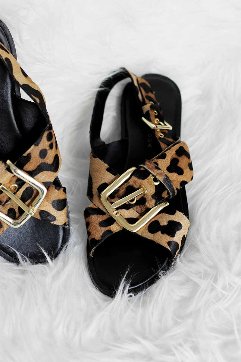 New In | Leopard Sandals