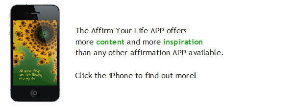 Just one screenshot from over 2450 pages in the Affirm Your Life App!
