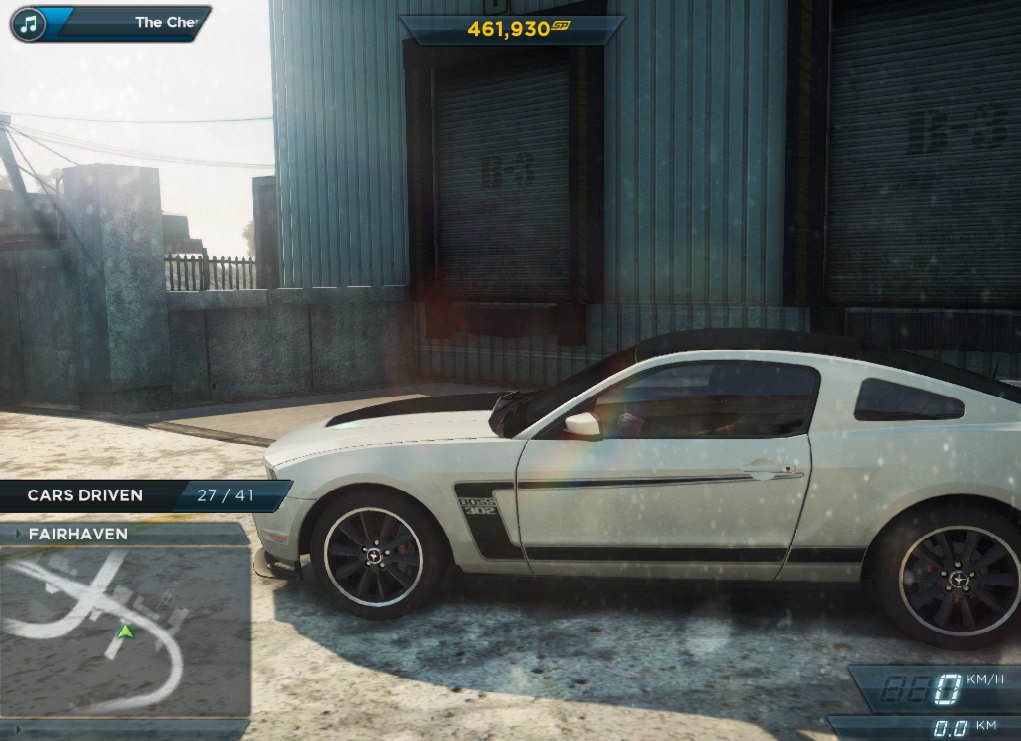 Need For Speed Most Wanted Car Locations Ford Mustang Boss 302