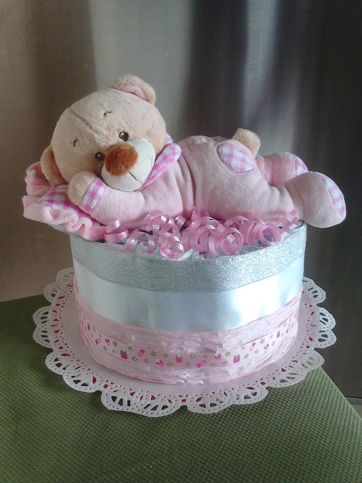 Manila Baby 1 Tier Round Diaper Cake