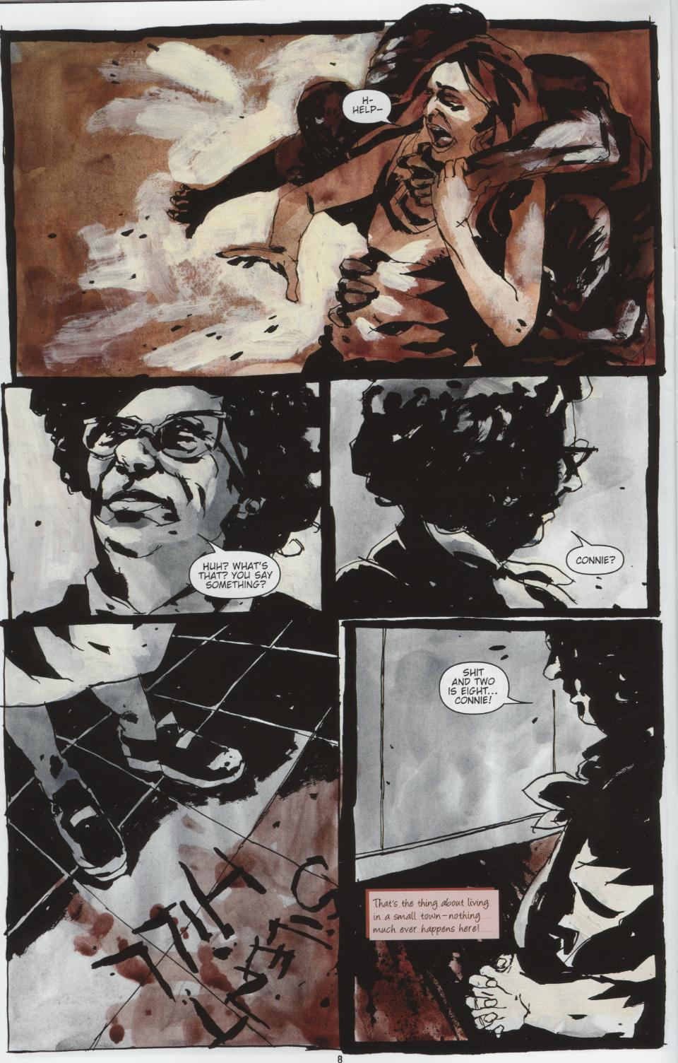 Read online Silent Hill: Dead/Alive comic -  Issue #1 - 8
