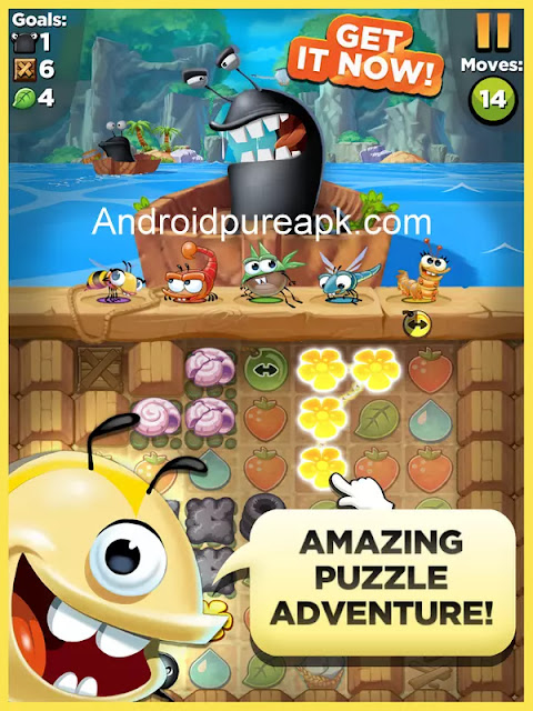 Best Fiends Puzzle Adventure Mod Apk