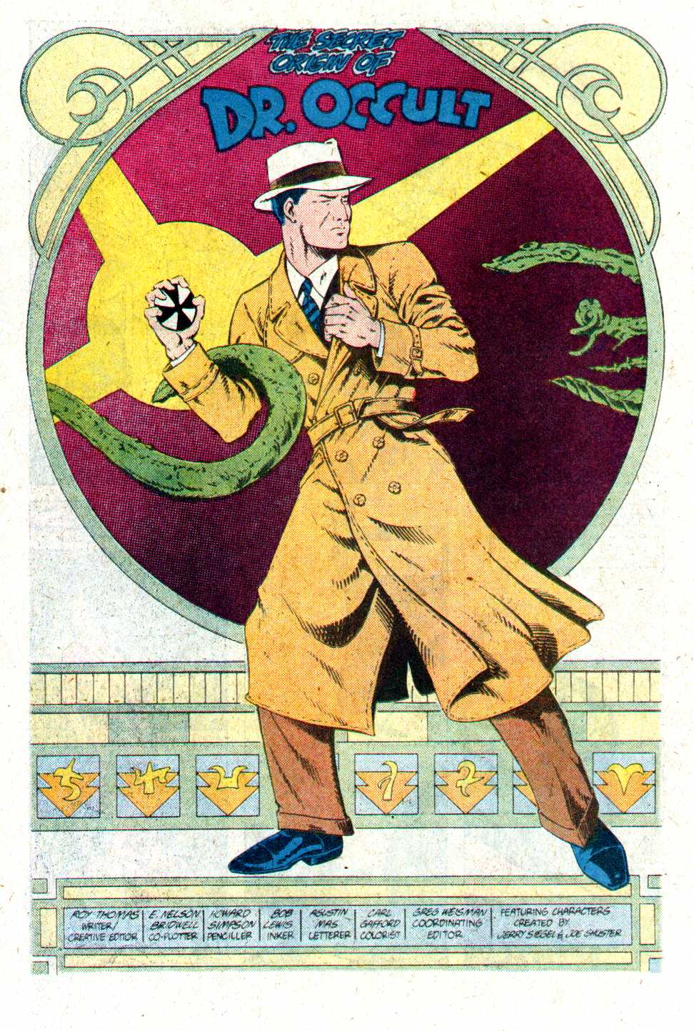 Read online Secret Origins (1986) comic -  Issue #17 - 25