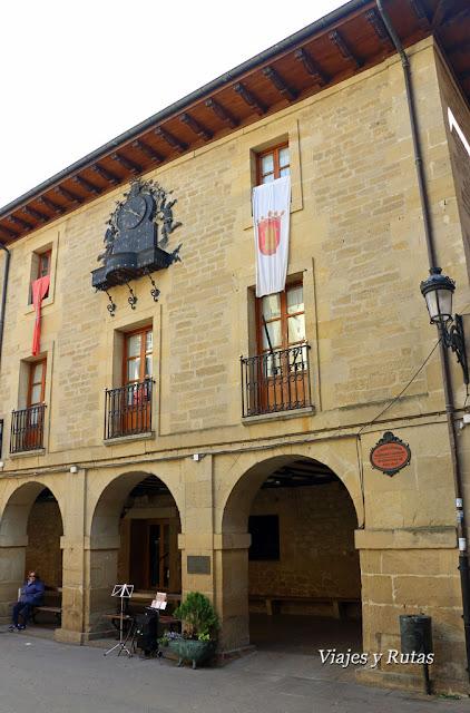 Ayuntamiento, Plaza Mayor de Laguardia, Álava