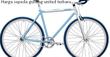 Daftar harga sepeda gunung united dibawah 2 juta murah terbaru