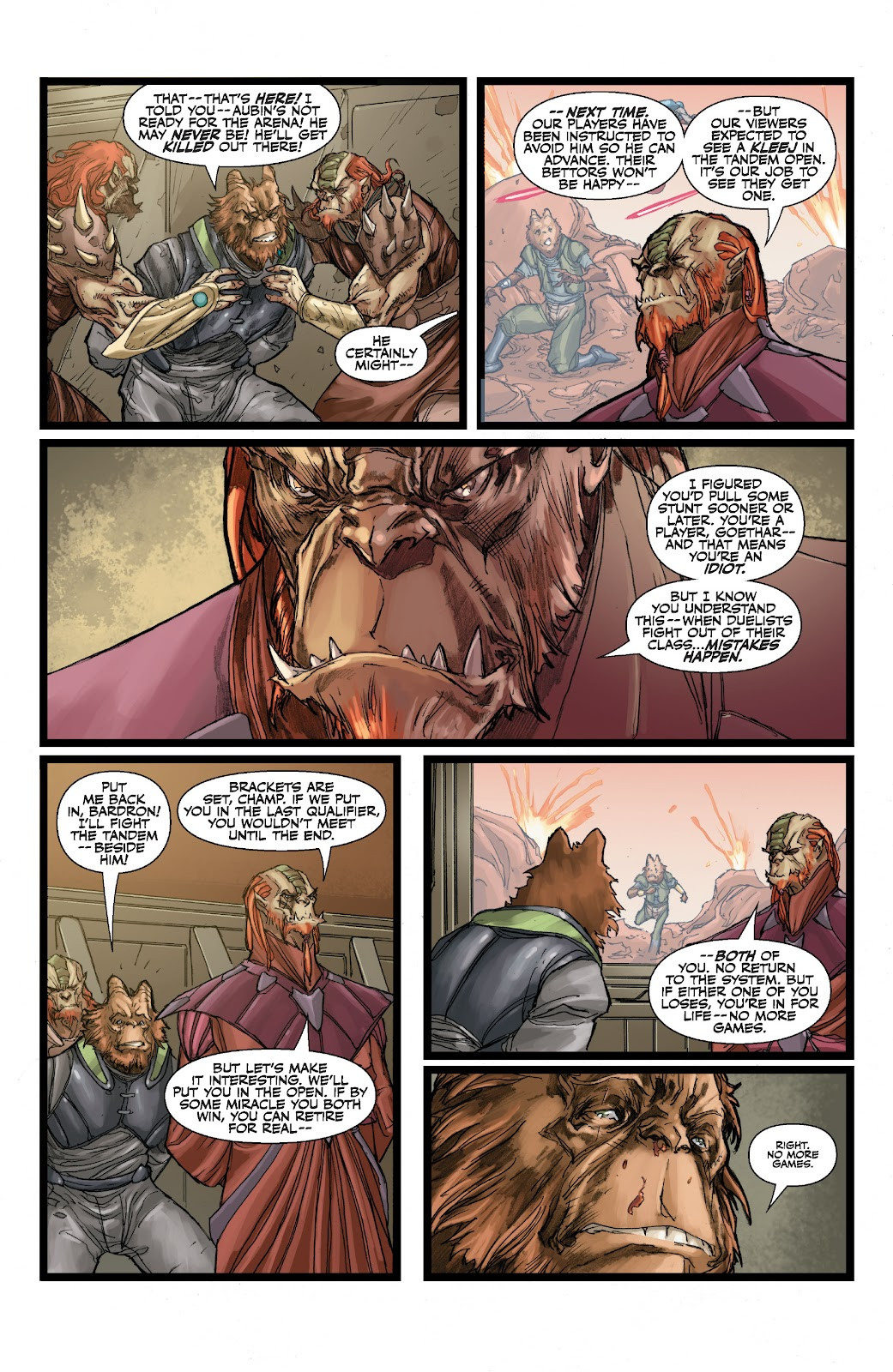 Read online Star Wars Legends: The Old Republic - Epic Collection comic -  Issue # TPB 3 (Part 1) - 44