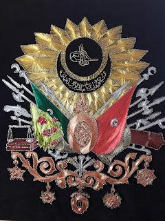 filografi osmanlı arması