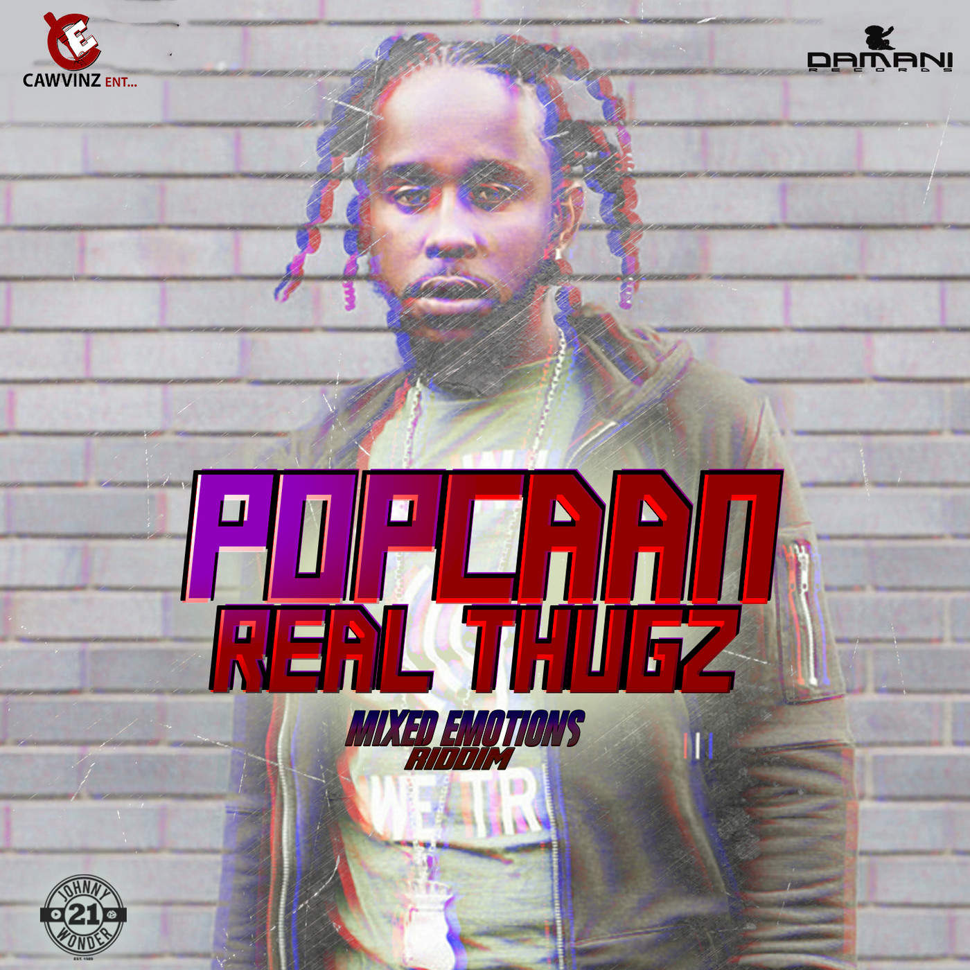 Popcaan - Real Thugz - Single Cover
