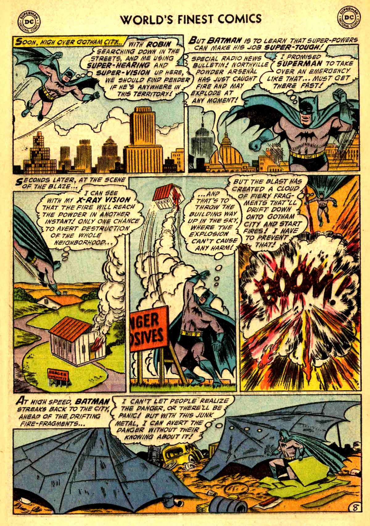 Read online World's Finest Comics comic -  Issue #77 - 10