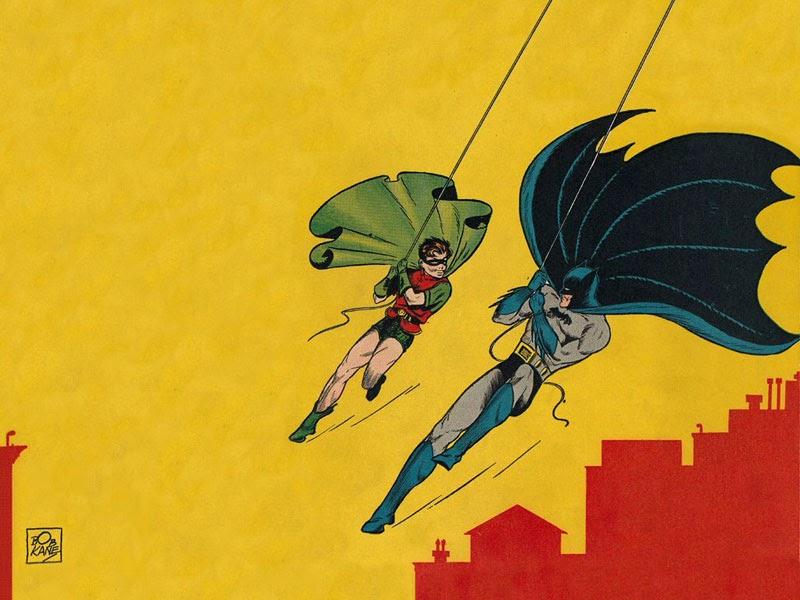 10 ilustradores más reconocidos, Bob Kane