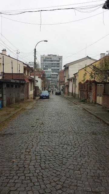 Yambol, Cobblestoned, Streets,