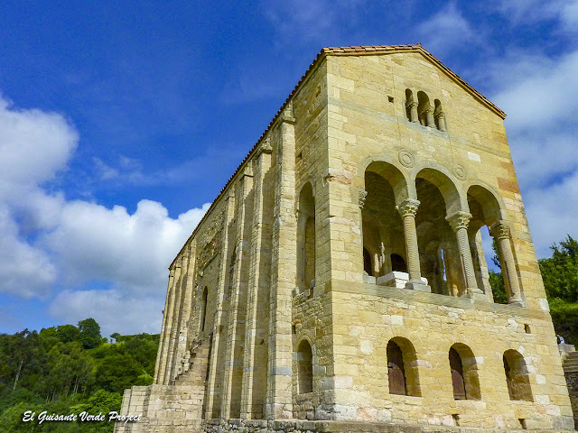 Santa Maria del Naranco, Oviedo, Asturias por El Guisante Verde Project
