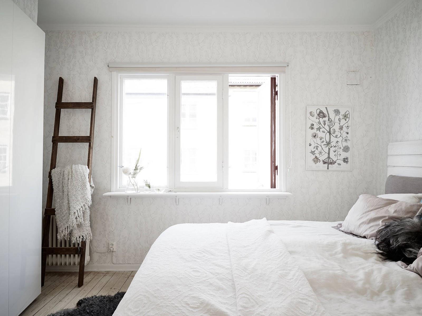 drabina w sypialni, drabina w łazience IKEA