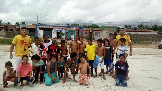 Igreja de Deus em Ação nas comunidades Camarense: Evangelismo no Brejinho e  ação social em Assunção.