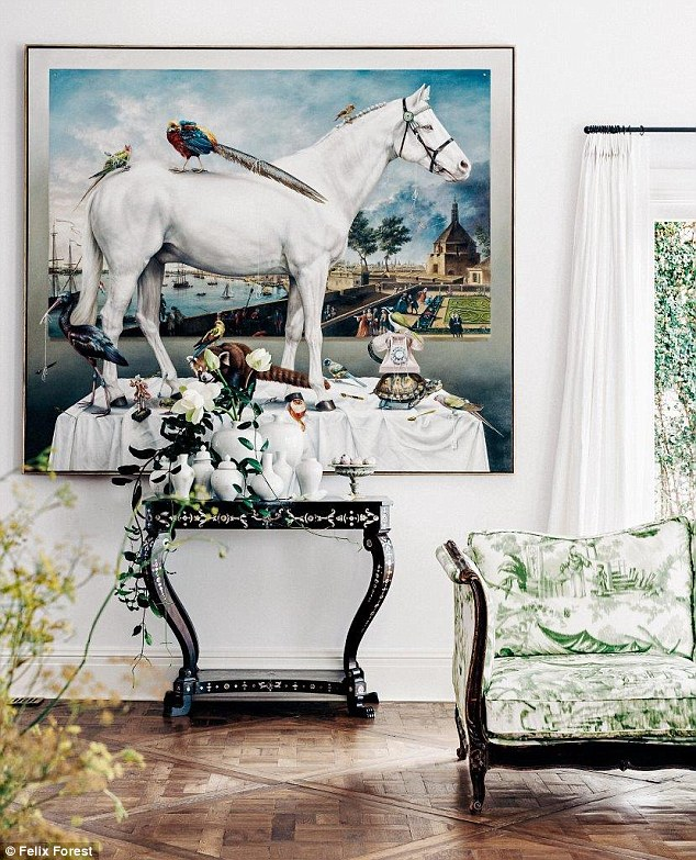 Fashion Collette Dinnigan beautiful home