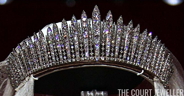 Queen Mary S Fringe Tiara The Court Jeweller