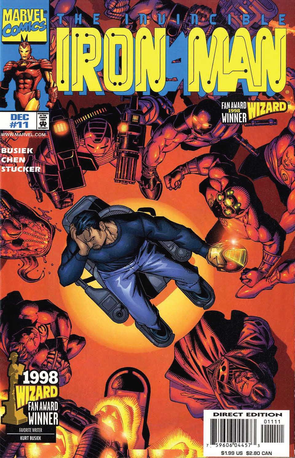 Iron Man (1998) 11 Page 1