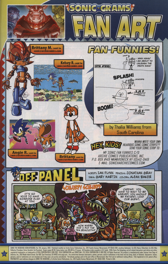 Read online Sonic The Hedgehog comic -  Issue #231 - 33