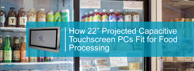 Only the best projected capacitive touchscreens for food processing