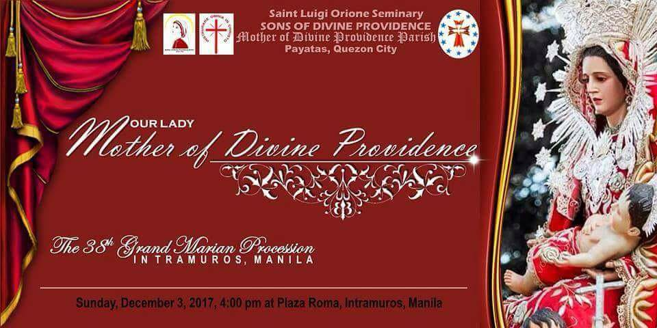 Grand Marian Parade Mother of Divine Providence