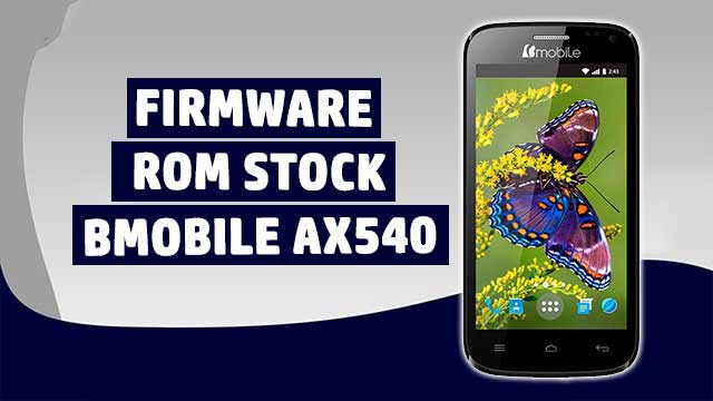 rom stock Bmobile AX705