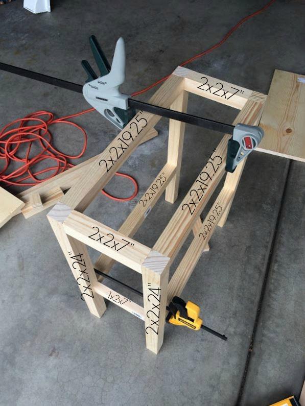 farmhouse table measurements