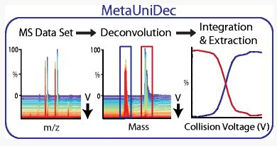News in Proteomics Research: MetaUniDec - Deconvolution software